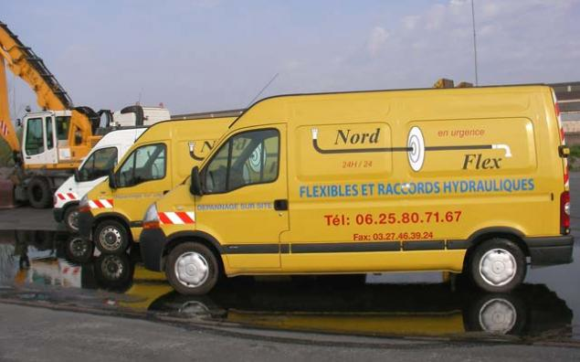 Dépannage flexible hydraulique Nord-Pas-de-Calais